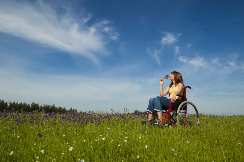 1194624-handicapped-woman-on-wheelchair